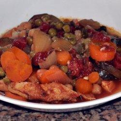 Chicken Bean and Veggie Stew recipe