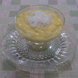 Coconut Pudding recipe