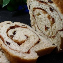 Amish Cinnamon Swirl Raisin Bread recipe