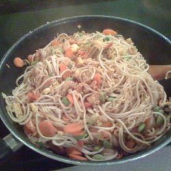 Yummy Shrimp Pad Thai recipe