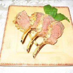 Rack of Lamb With a Honey-Hazelnut Crust recipe