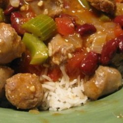 Andouille Sausage and Beans recipe