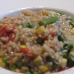 Kiss the Cook Good Risotto Primavera recipe
