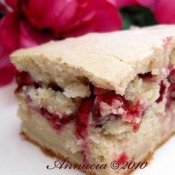 Cranberry Sour Cream Coffee Cake recipe