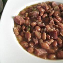 Pinto Beans & Ham recipe