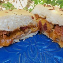 BBQ Chicken and Cheddar Sandwiches recipe