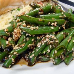 Goma-Ae Green Beans - Japanese Green Beans With Sesame Dressing recipe