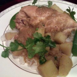 Chicken Lemongrass and Potato Curry - Adapted from Andrea Nguyen recipe