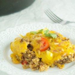 Cheesy Rice Casserole recipe