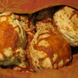 Babychops' Bomb Diggity Cheddar Herb Biscuits recipe