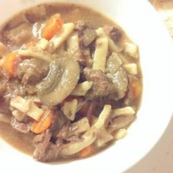 Pressure Cooker Beef and Noodles recipe