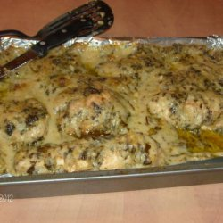 Chicken Florentine in a White Wine Sauce recipe
