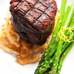 Filet Mignon with Red Wine Sauce recipe