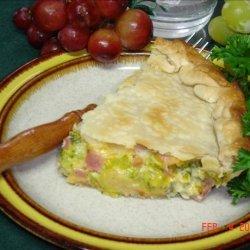 Ham and Broccoli Pie recipe