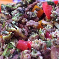 Beefy Scramble recipe