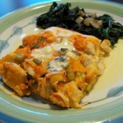 Heart Smart Bisquick Buffalo Chicken Bake recipe