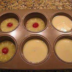 Mini Pineapple Upside Down Cakes recipe
