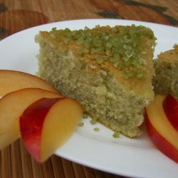 Green Tea Cake recipe