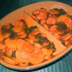 Carrots with Raisin Sauce recipe
