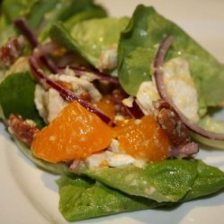 Chicken, Avocado and Mandarin Orange Salad recipe