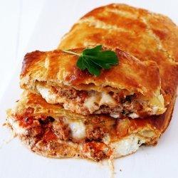 Meatball Calzones recipe