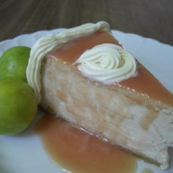Guava Cheesecake With Cashew-Ginger Crust recipe