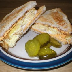 Midnight Eggs and Cheese Sandwich recipe