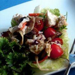Mushroom, Tomato and Artichoke Salad - Low Fat recipe