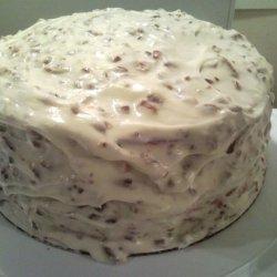 Missy's Red Velvet Cake W/Cream Cheese Frosting recipe