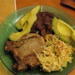 3 Spice Fried Pork Chops recipe