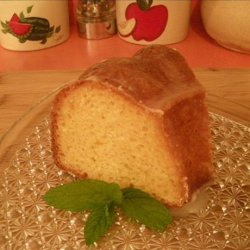 Busy Day Lemon Glazed Pound Cake recipe