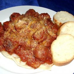 Rigatoni With Spicy Sausage and Herbs recipe