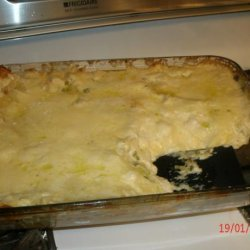 Lasagna With Alfredo Sauce recipe