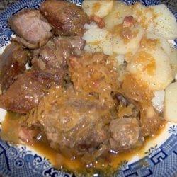 Country Ribs and Sauerkraut recipe