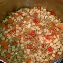 Pasta With Lentils (Pasta Con Lenticche) - Lidia Bastianich recipe