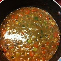 Mexican Bean Soup recipe