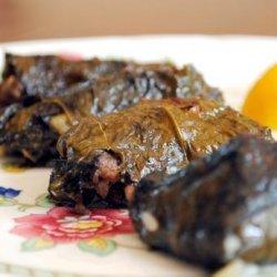 Greek Dolma Aka Stuffed Grape Leaves recipe