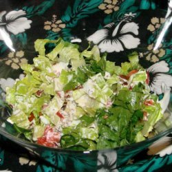 Easy BLT Salad recipe