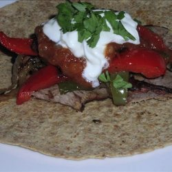 Ww 3 Points - Grilled Beef Fajitas recipe