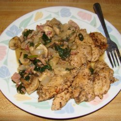 Seasoned Chicken in a Light Wine Sauce recipe