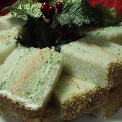 Smoked Salmon and Scallion Tea Sandwiches recipe