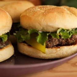 Garlic Lover's Burger recipe