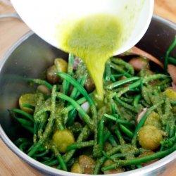 Italian Green Bean Salad recipe