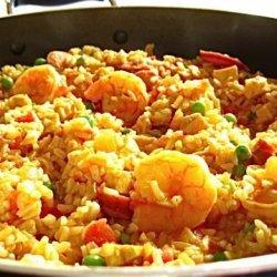 Paella in a Hurry:p recipe