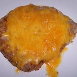 Cheesy Smothered Pork Chops recipe