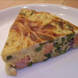 Salmon Trilogy (Part IIl): Gravad Salmon Pasta Frittata recipe