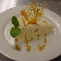 Honeycomb Ice Cream With Toffee Sauce recipe