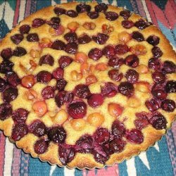 Sweet Cherry & Almond Tart recipe