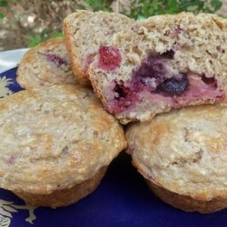Healthy Berry Muffins recipe