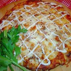 Buffalo Garlic Ranch Pizza #RSC recipe